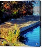 Autumn Colors In Kearney Lake Acrylic Print