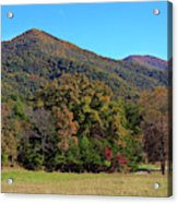 Autumn Colours In Great Smoky Mountains National Park Acrylic Print