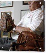 Baseball - Pitcher Bob Feller 2 Acrylic Print