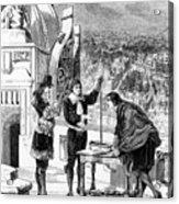 Blaise Pascal, 17th Century French Acrylic Print