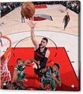 Boston Celtics V Portland Trail Blazers Acrylic Print