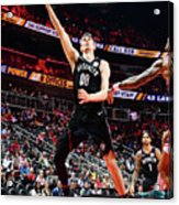 Brooklyn Nets V Atlanta Hawks Acrylic Print