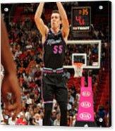 Brooklyn Nets V Miami Heat Acrylic Print