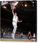 Brooklyn Nets V New York Knicks Acrylic Print