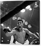 Cassius Clay After Winning Championship Acrylic Print