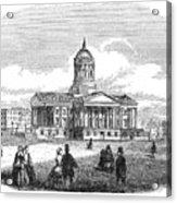 Charleston, 1857 Acrylic Print