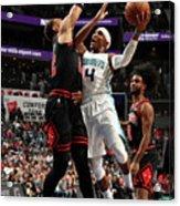 Chicago Bulls V Charlotte Hornets Acrylic Print