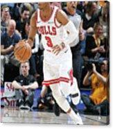 Chicago Bulls V Utah Jazz Acrylic Print