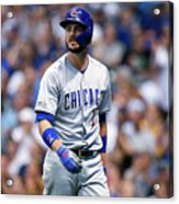 Chicago Cubs V Milwaukee Brewers 2 Acrylic Print