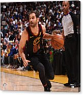 Cleveland Cavaliers V Golden State Acrylic Print