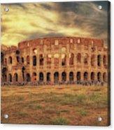 Colosseo, Rome Acrylic Print