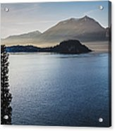 Como District Lake Acrylic Print
