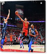 Dallas Mavericks V Atlanta Hawks Acrylic Print