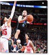 Dallas Mavericks V Chicago Bulls Acrylic Print