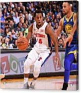 Detroit Pistons V Golden State Warriors Acrylic Print