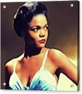 Eartha Kitt, Hollywood Legend Acrylic Print