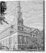First Baptist Church Columbia Acrylic Print