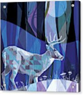 Ghost Walker Acrylic Print