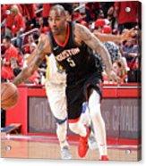 Golden State Warriors V Houston Rockets Acrylic Print