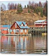 Halibut Cove Kenai Peninsula Alaska Acrylic Print