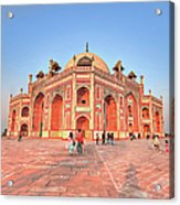 Humayuns Tomb, New Delhi Acrylic Print