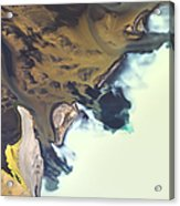 Iceland Aerial View Acrylic Print