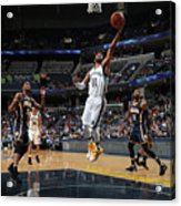 Indiana Pacers V Memphis Grizzlies Acrylic Print
