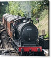 J27 Locomotive 65894 On North York Moors Railway Acrylic Print