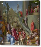 Joseph With Jacob In Egypt  Acrylic Print