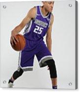 Justin Jackson Rookie Shoot Acrylic Print