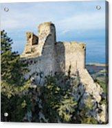 Kantara Castle, Cyprus Acrylic Print