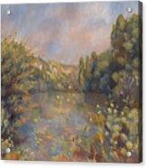 Lakeside Landscape  Acrylic Print