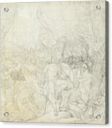 Leonidas At Thermopylae  Acrylic Print