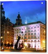 Liverpool's Historic Waterfront Acrylic Print