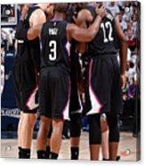 Los Angeles Clippers V Utah Jazz - Game Acrylic Print