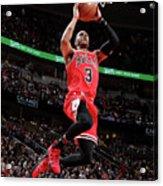 Los Angeles Lakers V Chicago Bulls Acrylic Print
