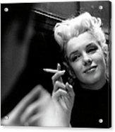 Marilyn Candid Moment Acrylic Print