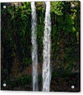 Mauritius. The 90 Meter High Twin Acrylic Print