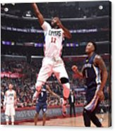 Memphis Grizzlies V Los Angeles Clippers Acrylic Print