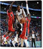 Memphis Grizzlies V New Orleans Pelicans Acrylic Print