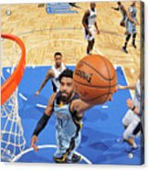 Memphis Grizzlies V Orlando Magic Acrylic Print