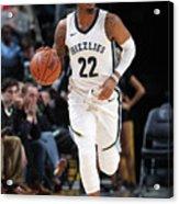 Milwaukee Bucks V Memphis Grizzlies Acrylic Print