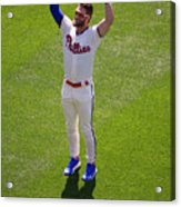 Minnesota Twins V Philadelphia Phillies 2 Acrylic Print