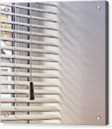 Modern Window Blind Acrylic Print