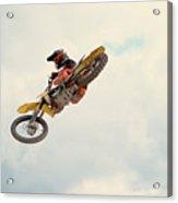 Motorbike Riding Acrylic Print