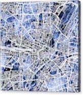 Munich Germany City Map Acrylic Print