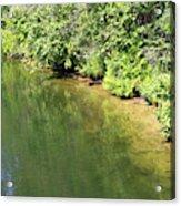 Narrow Cut On The Trent Severn Waterway Acrylic Print