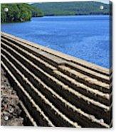 New Croton Dam At Croton On Hudson New York Acrylic Print