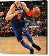 New York Knicks V New Orleans Pelicans Acrylic Print