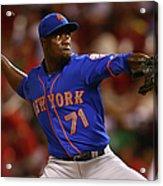 New York Mets V St. Louis Cardinals 2 Acrylic Print